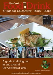 Colchester Food and Drink Guide - thedms