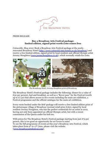 Buy press release