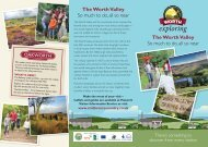 The Worth Valley So much to do, all so near The Worth ... - thedms