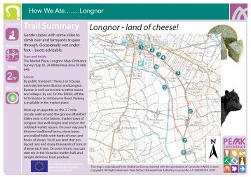 Longnor - land of cheese! Trail Summary - Thedms.co.uk