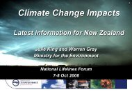 Preparing for Climate Change - Ministry of Civil Defence and ...
