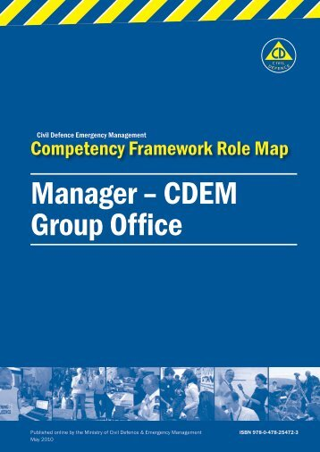 CDEM Group Office - Ministry of Civil Defence and Emergency ...