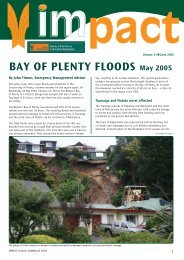 Impact Vol21 final.indd - Ministry of Civil Defence and Emergency ...