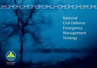 National CDEM Strategy - Ministry of Civil Defence and Emergency ...
