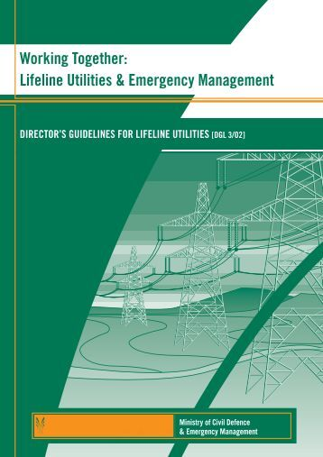 Lifeline Utilities & Emergency Management - Ministry of Civil ...