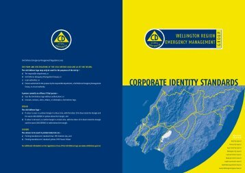 corporate identity standards - Ministry of Civil Defence and ...