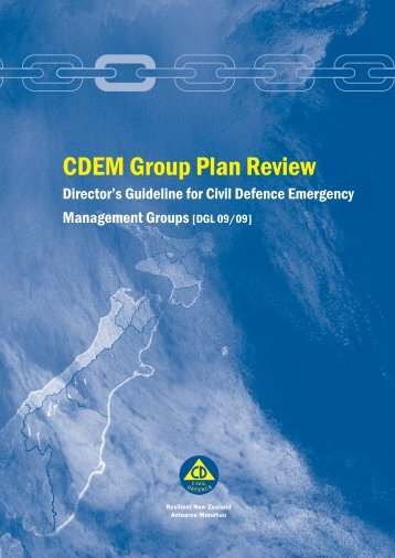 CDEM Group Plan Review - Ministry of Civil Defence and ...