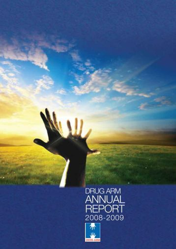 DRUG ARM Australasia Annual Report 2008-2009