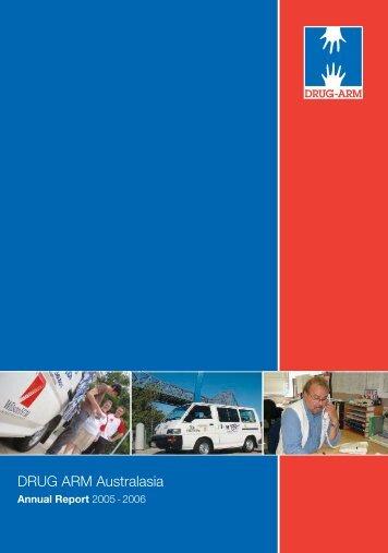 Annual Report 2005-2006 - Drug Arm