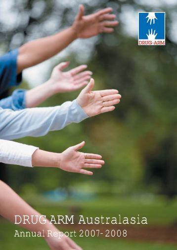 DRUG ARM Australasia Annual Report 2007-2008