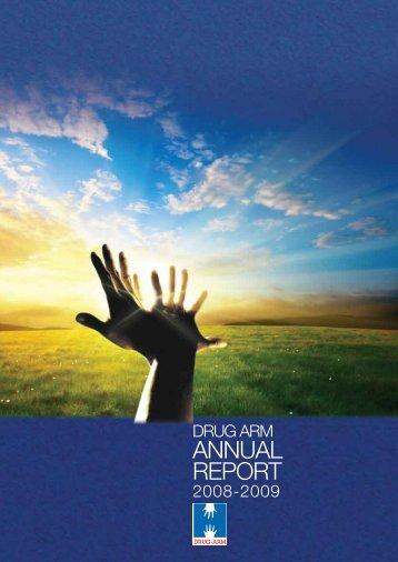 DRUG ARM Australasia Annual Report 2008-2009