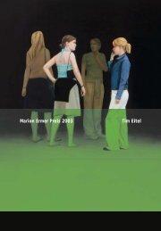 Marion Ermer Preis 2003 Tim Eitel - Galerie EIGEN+ART