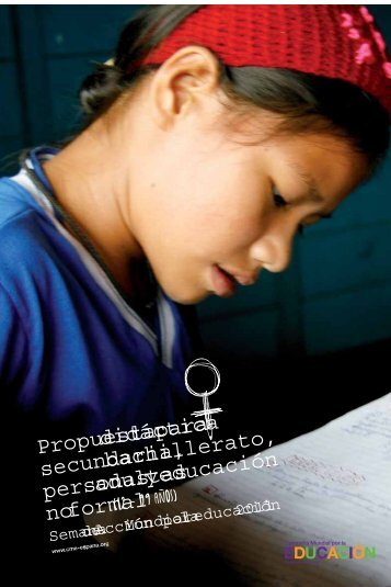 Propuesta didáctica para secundaria, bachillerato ... - Radio ECCA
