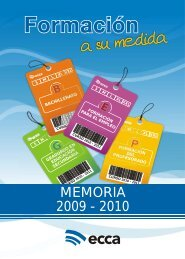MEMORIA 2009 - 2010 - Radio ECCA
