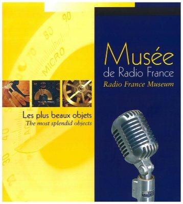 Les objets du Musée (pdf) - Radio France