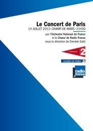 Le Concert de Paris - Radio France