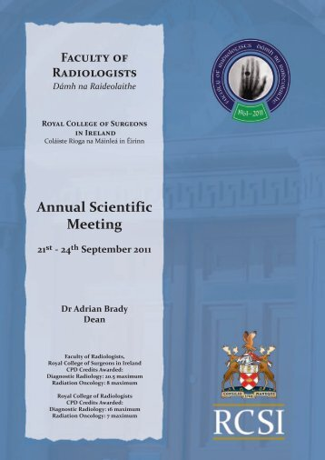Annual Scientific Meeting - Faculty of Radiologists