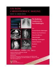 Printable Brochure - Department of Radiology
