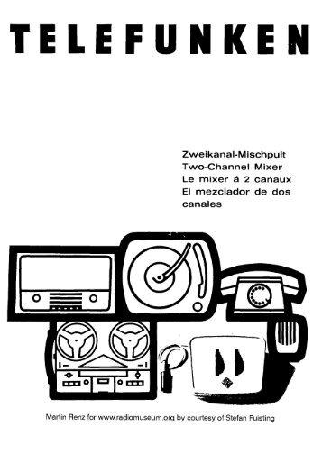 Telefunken 2 Kanal 14-fach Mischpult-1.psd - Radiomuseum.org