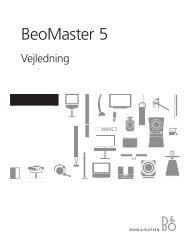 BeoMaster 5 - Radio & TV-Eksperten