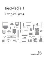 DA-3509394_0703EN GS BeoMedia 1.indd - Radio & TV-Eksperten