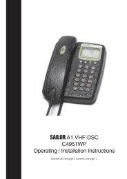 C4951WP Waterproof Handset - Polaris-as.dk