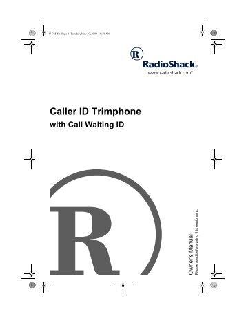 Caller ID Trimphone - Radio Shack