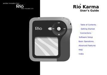 Rio Karma - Radio Shack