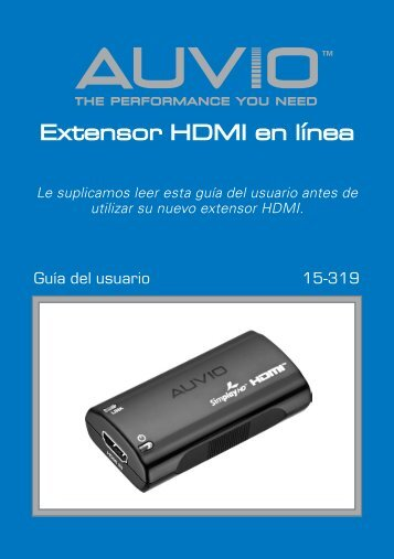 Extensor HDMI en línea - Radio Shack