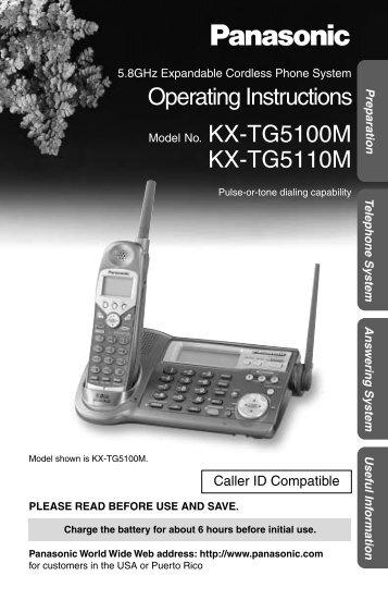 Panasonic 5.8GHz MultiTalk Expandable - Radio Shack