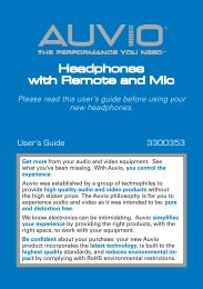 Headphones with Remote and Mic - Radio Shack