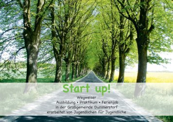 Start up! - ASB RV Warnow-Trebetal eV