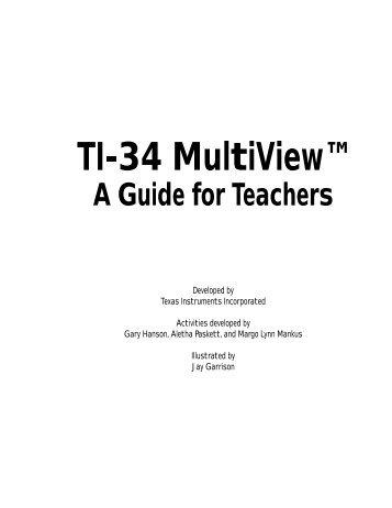 Texas Instruments TI-34 MultiView? Scientific ... - Radio Shack