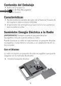 Radio de Emergencia AM/FM - Radio Shack - Page 3