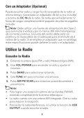 Radio de Emergencia AM/FM - Radio Shack - Page 6