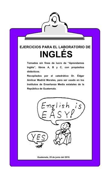 EJERCICIOS PARA EL LABORATORIO DE INGLES - Radio Verdad