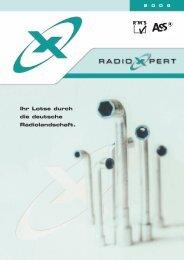 Ihr Lotse durch die deutsche Radiolandschaft. - radioxpert