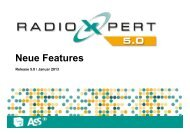 Neue Features Xpert 5.0_Xpert integriert - radioxpert