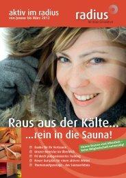 Das neue radius Magazin