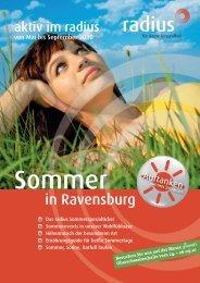 Erfrischend anders – die radius Sommeraktion