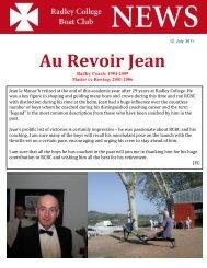 Au Revoir Jean - Radley College