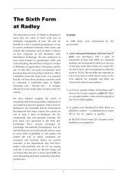 Download - Radley College