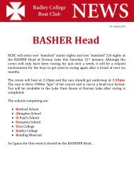 BASHER Head - Radley College