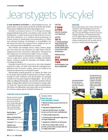 Jeanstygets livscykel - Råd & Rön