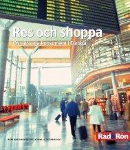 Res och shoppa - Råd & Rön