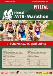 komplette Ausschreibung 2013 - Radsport Events Tirol