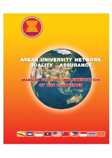 AUN-QA Manual - ASEAN University Network