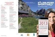 Beschreibung - Salzburger Sportwelt