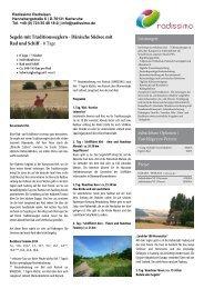 Neckar-Radweg von Villingen-Schwenningen nach ... - Rad und Schiff