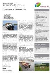 Donau-Radweg klassisch von Passau nach Wien - Rad und Schiff